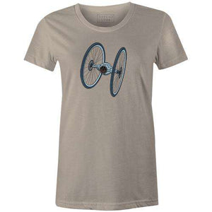Tire Fighter Women'sThread+Spoke - THREAD+SPOKE | MTB APPAREL | ROAD BIKING T-SHIRTS | BICYCLE T SHIRTS |