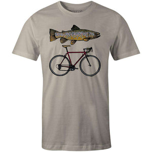 Men's T-shirt - Fish Bike