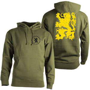 Flanders HoodieThread+Spoke - THREAD+SPOKE | MTB APPAREL | ROAD BIKING T-SHIRTS | BICYCLE T SHIRTS |