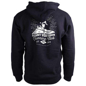 Mont Ventoux Running Club HoodieThread+Spoke - THREAD+SPOKE | MTB APPAREL | ROAD BIKING T-SHIRTS | BICYCLE T SHIRTS |