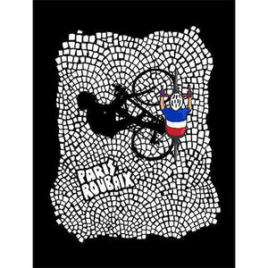 Paris-Roubaix Cobbles PosterThread+Spoke - THREAD+SPOKE | MTB APPAREL | ROAD BIKING T-SHIRTS | BICYCLE T SHIRTS |