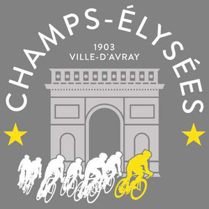 Champs Elysees TeeThread+Spoke - THREAD+SPOKE | MTB APPAREL | ROAD BIKING T-SHIRTS | BICYCLE T SHIRTS |