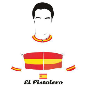 El PistoleroBICI - THREAD+SPOKE | MTB APPAREL | ROAD BIKING T-SHIRTS | BICYCLE T SHIRTS |