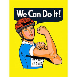 We Can Do It PosterBoggs Nicolas - THREAD+SPOKE | MTB APPAREL | ROAD BIKING T-SHIRTS | BICYCLE T SHIRTS |