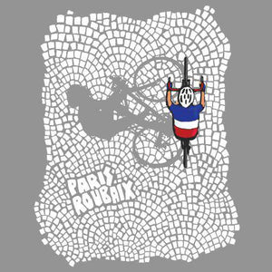 Paris-Roubaix Cobbles Women'sThread+Spoke - THREAD+SPOKE | MTB APPAREL | ROAD BIKING T-SHIRTS | BICYCLE T SHIRTS |