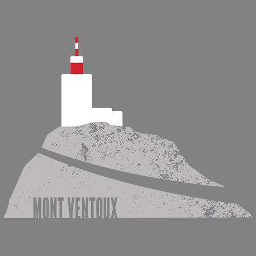 Tour Mont VentouxThread+Spoke - THREAD+SPOKE | MTB APPAREL | ROAD BIKING T-SHIRTS | BICYCLE T SHIRTS |