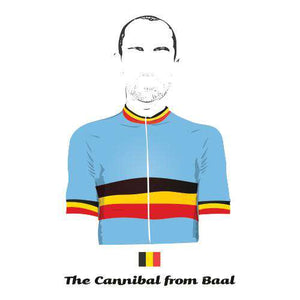 The Cannibal From BaalBICI - THREAD+SPOKE | MTB APPAREL | ROAD BIKING T-SHIRTS | BICYCLE T SHIRTS |