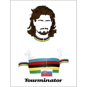 Limited Edition Tourminator PosterBICI - THREAD+SPOKE | MTB APPAREL | ROAD BIKING T-SHIRTS | BICYCLE T SHIRTS |