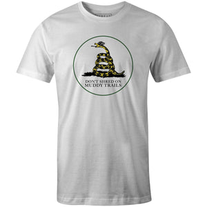 Men's T-shirt - Don't Shred Muddy On Trails