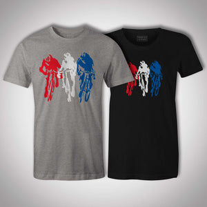 3 Up SprintThread+Spoke - THREAD+SPOKE | MTB APPAREL | ROAD BIKING T-SHIRTS | BICYCLE T SHIRTS |
