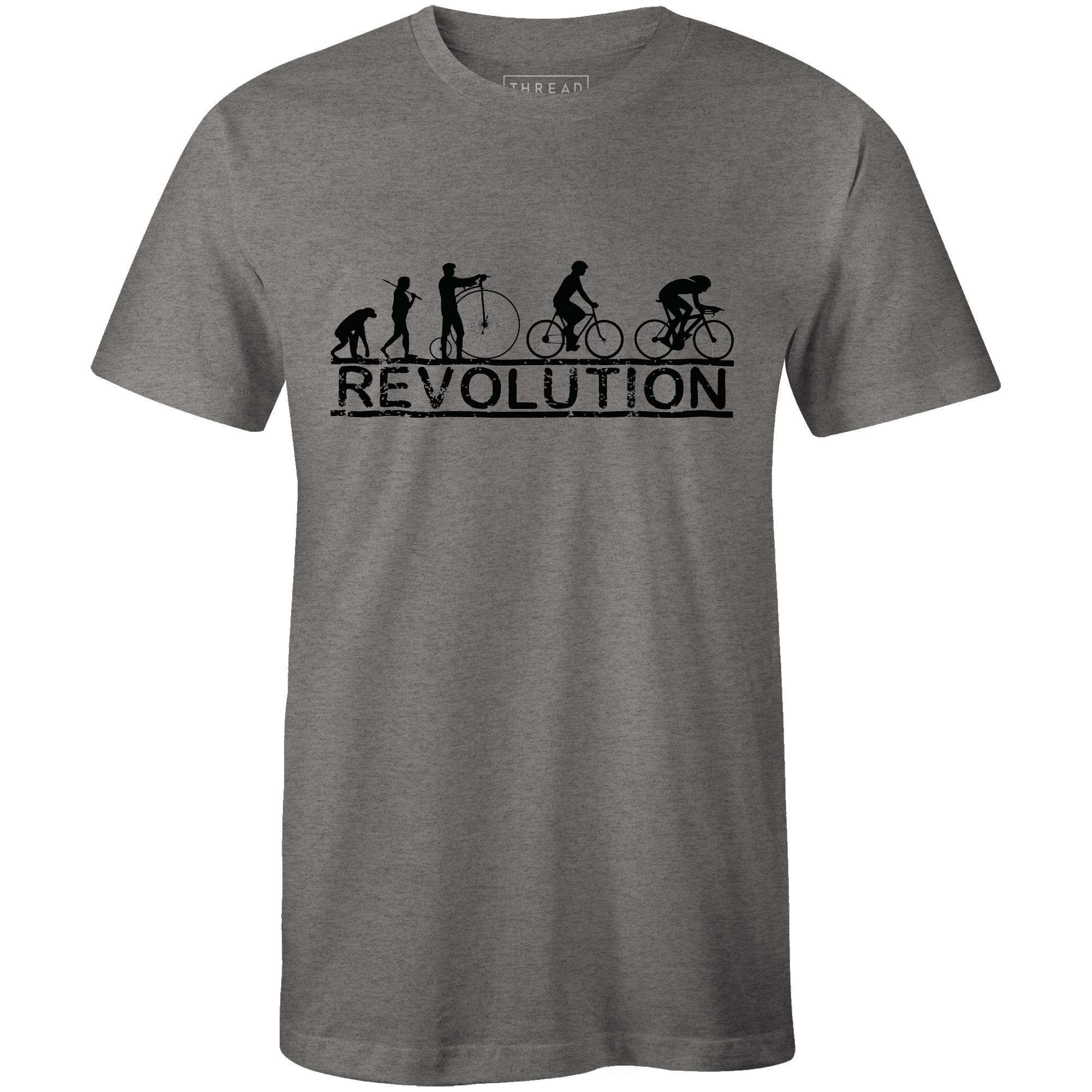 Cycling RevolutionMile24 - THREAD+SPOKE | MTB APPAREL | ROAD BIKING T-SHIRTS | BICYCLE T SHIRTS |
