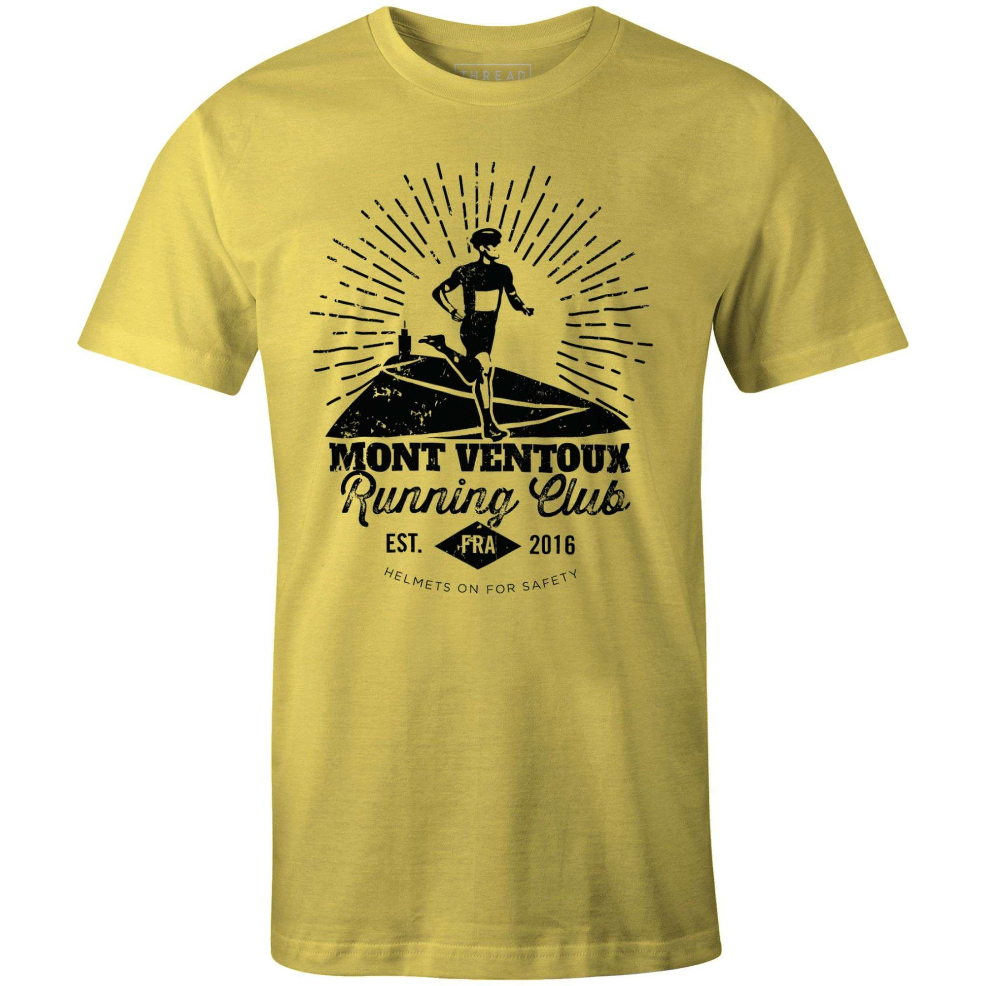 Mont Ventoux Running ClubThread+Spoke - THREAD+SPOKE | MTB APPAREL | ROAD BIKING T-SHIRTS | BICYCLE T SHIRTS |
