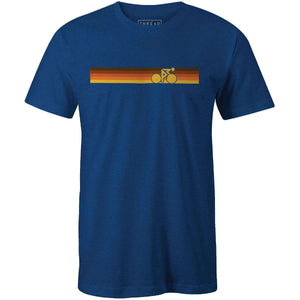 Rainbow Biker Vintage BrownThread+Spoke - THREAD+SPOKE | MTB APPAREL | ROAD BIKING T-SHIRTS | BICYCLE T SHIRTS |