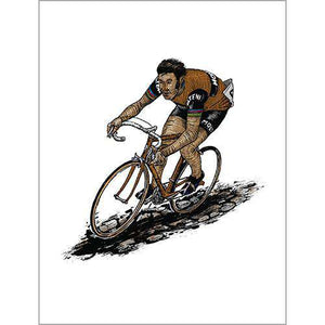 Merckx Cobble PosterThread+Spoke - THREAD+SPOKE | MTB APPAREL | ROAD BIKING T-SHIRTS | BICYCLE T SHIRTS |