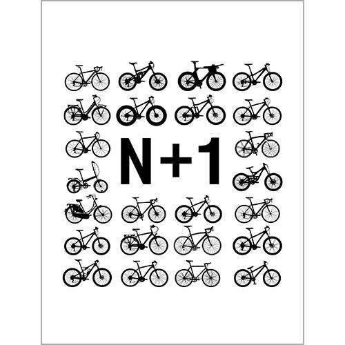 N+1 PosterThread+Spoke - THREAD+SPOKE | MTB APPAREL | ROAD BIKING T-SHIRTS | BICYCLE T SHIRTS |