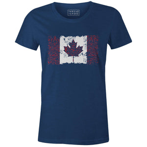 Bikes of Canada Women'sJordon Mazziotti - THREAD+SPOKE | MTB APPAREL | ROAD BIKING T-SHIRTS | BICYCLE T SHIRTS |