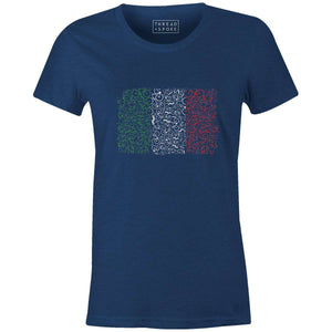 Bikes of Italy Women'sJordon Mazziotti - THREAD+SPOKE | MTB APPAREL | ROAD BIKING T-SHIRTS | BICYCLE T SHIRTS |