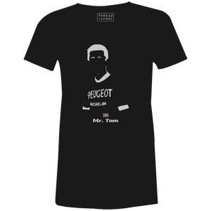 Mr. Tom Women'sBICI - THREAD+SPOKE | MTB APPAREL | ROAD BIKING T-SHIRTS | BICYCLE T SHIRTS |