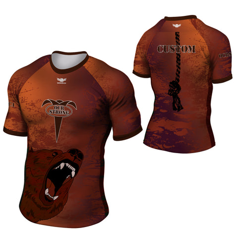 LegendBorne Men's OCR Strong Bear Jersey.