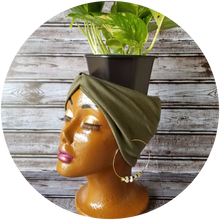 Load image into Gallery viewer, Peanut Butter Truffle Melanin Plant Mama Planter