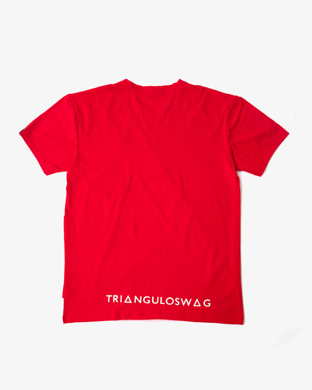 RED/ WHITE Triangulo Across Tshirt