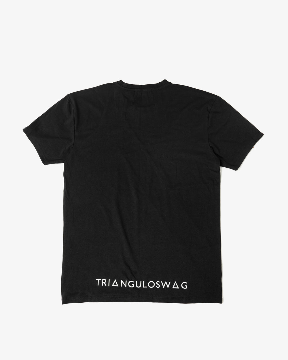 BLACK / WHITE Triangulo Across Tshirt