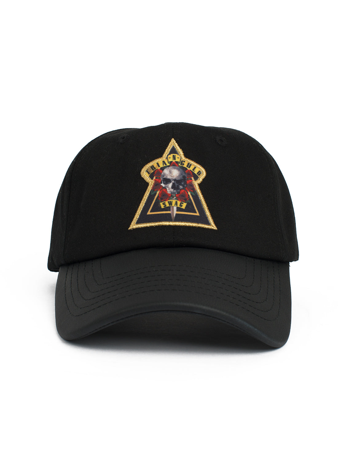 Black Skull Dad Hat