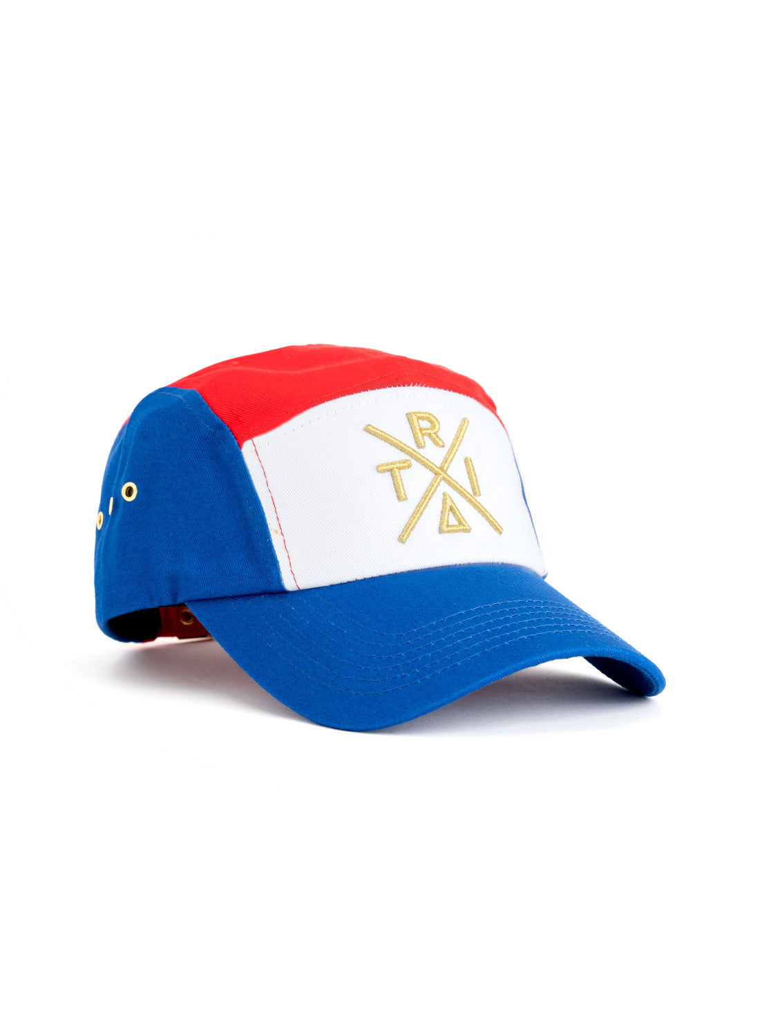 5 Panel Tri Color X red/blue/white - Triangulo Swag