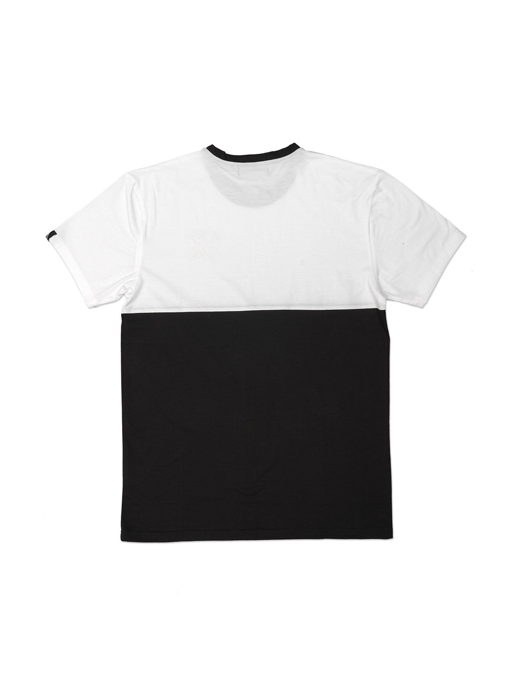 2 Tone BLACK / WHITE Tshirt - Triangulo Swag