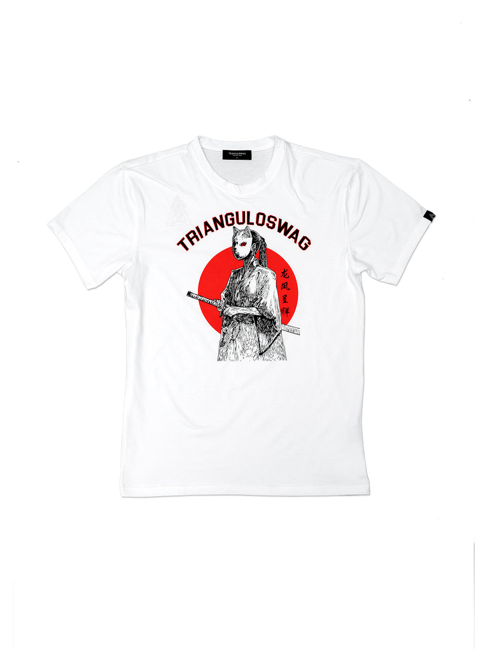 JAPAN WARRIOR tshirt - Triangulo Swag