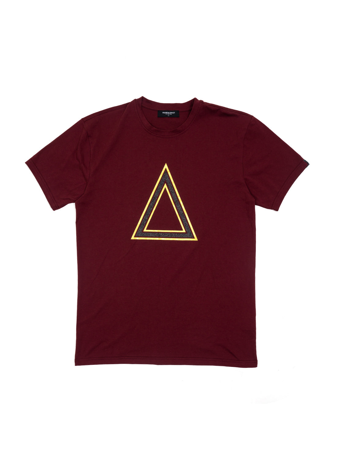 Classic Burgundy Gold Triangulo