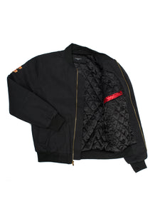 Le Tiger Black Suede Jacket - Triangulo Swag
