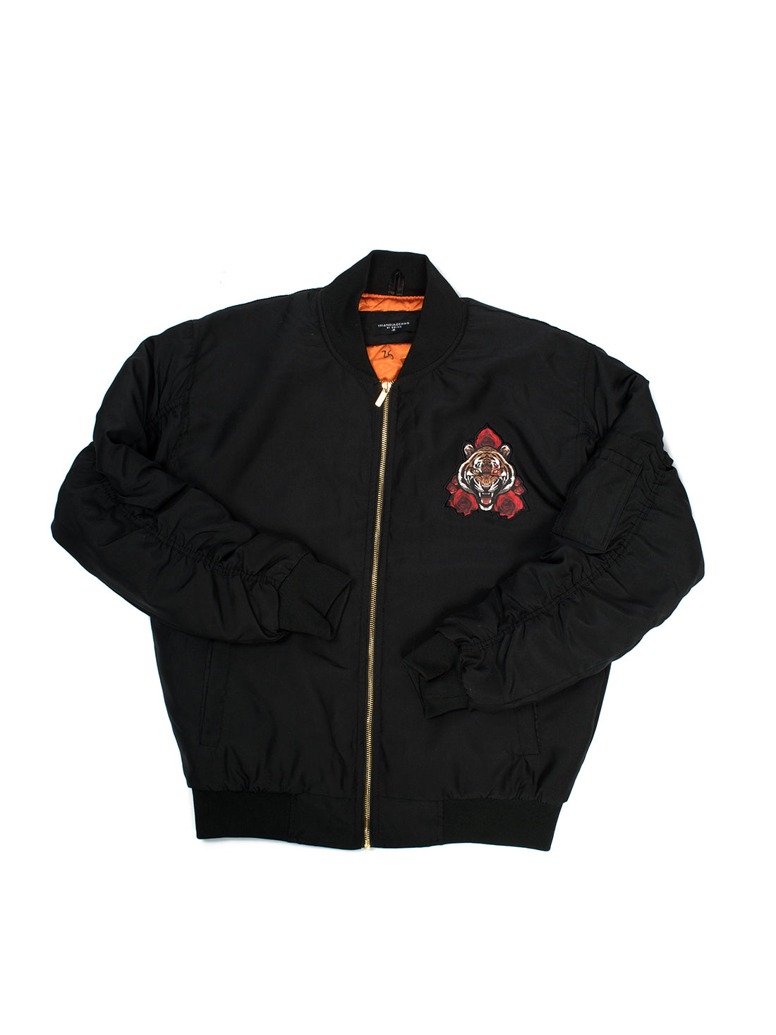 Le Tiger Black Nylon Jacket