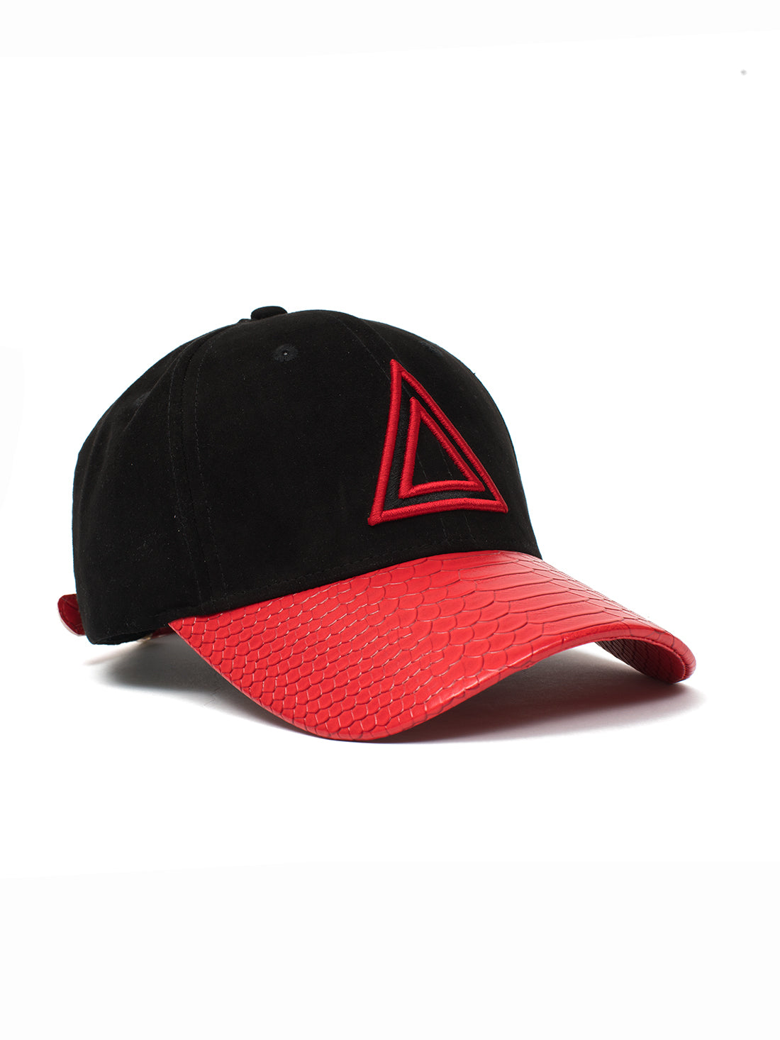 Red SnakeSkin Dad Hat