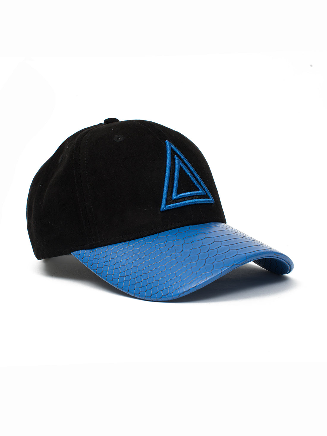 Blue Snakeskin Dad hat