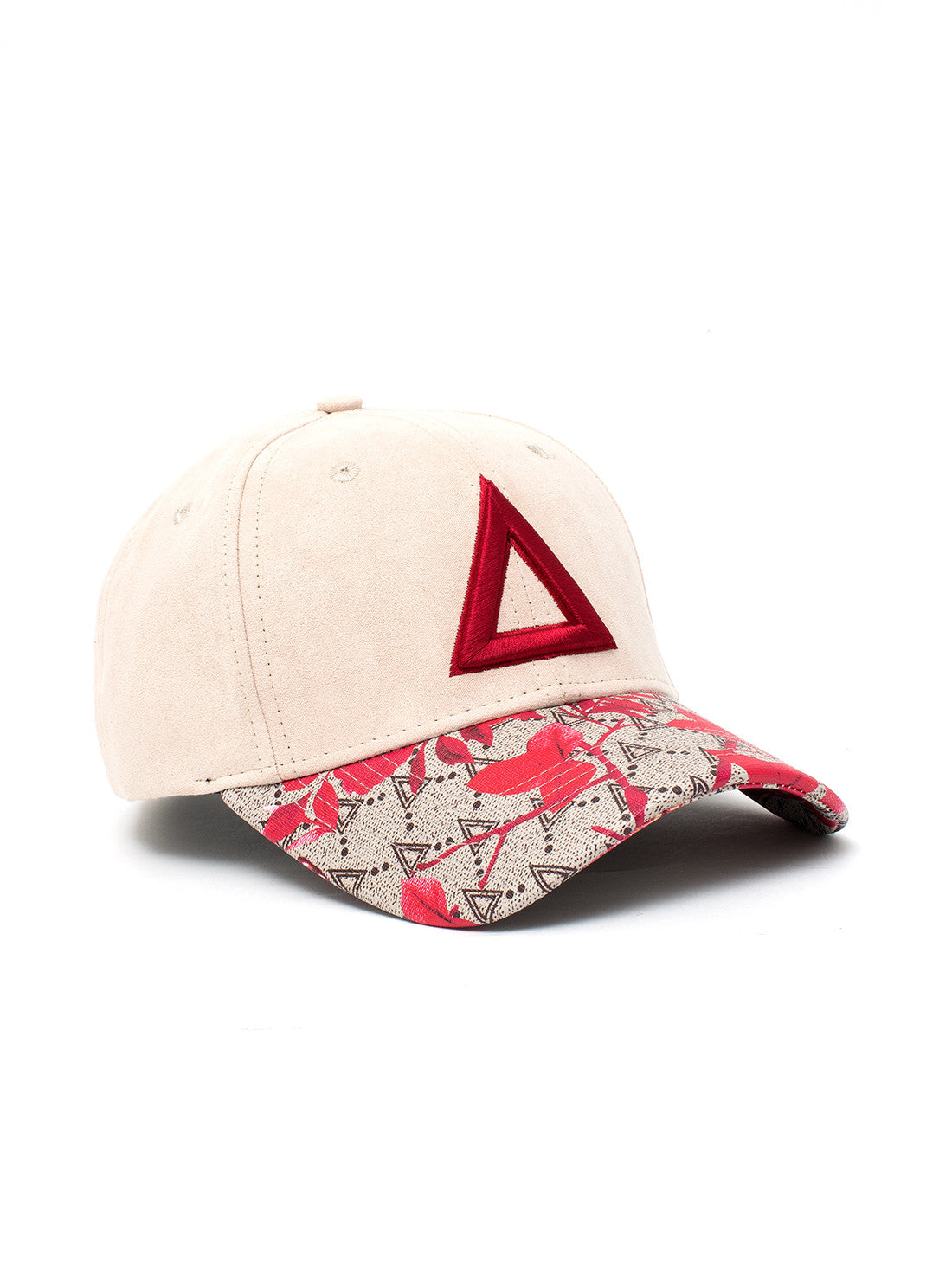 Limited Bird/Flower Red Triswag - Triangulo Swag