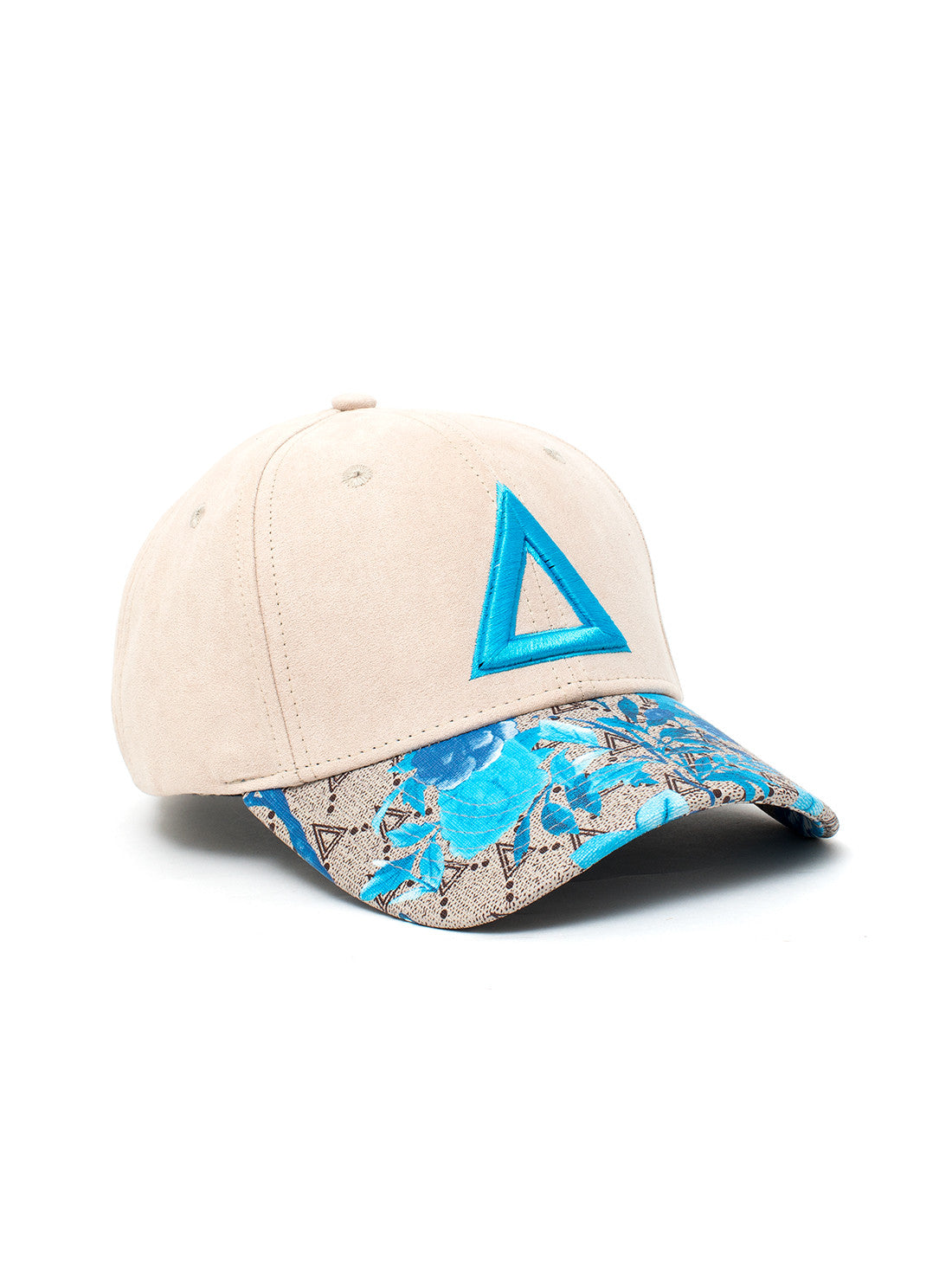 LIMITED BIRD/FLOWER Blue TRISWAG - Triangulo Swag