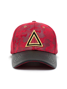 Red Suede Camo - Triangulo Swag