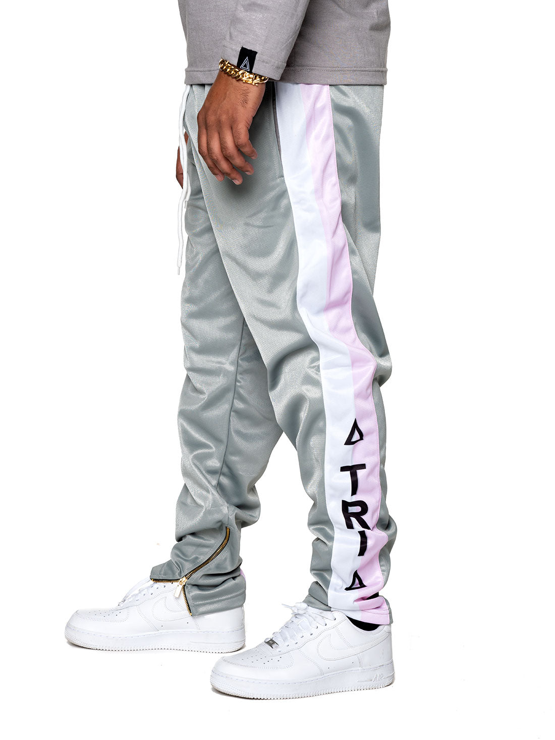 PINK/GREY Track Pant - Triangulo Swag