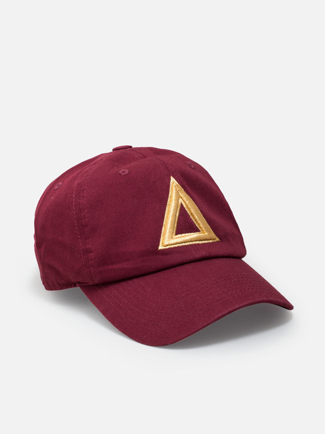 Dad hat Burgundy - gold tri1