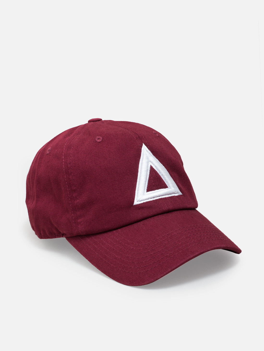 Dad hat Burgundy - white tri