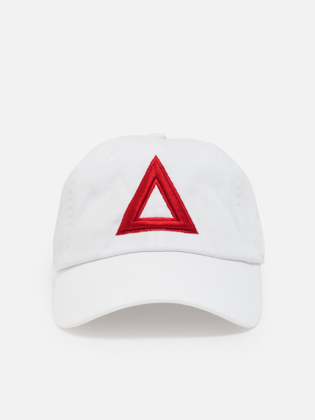 Dad hat White - Red Tri