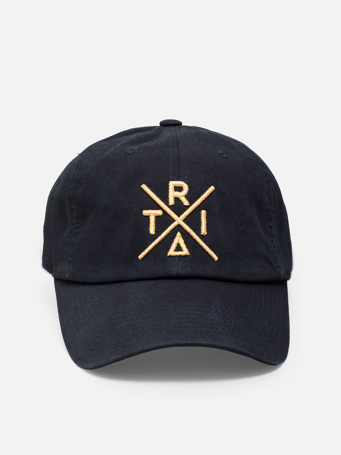 Dad hat black - X gold