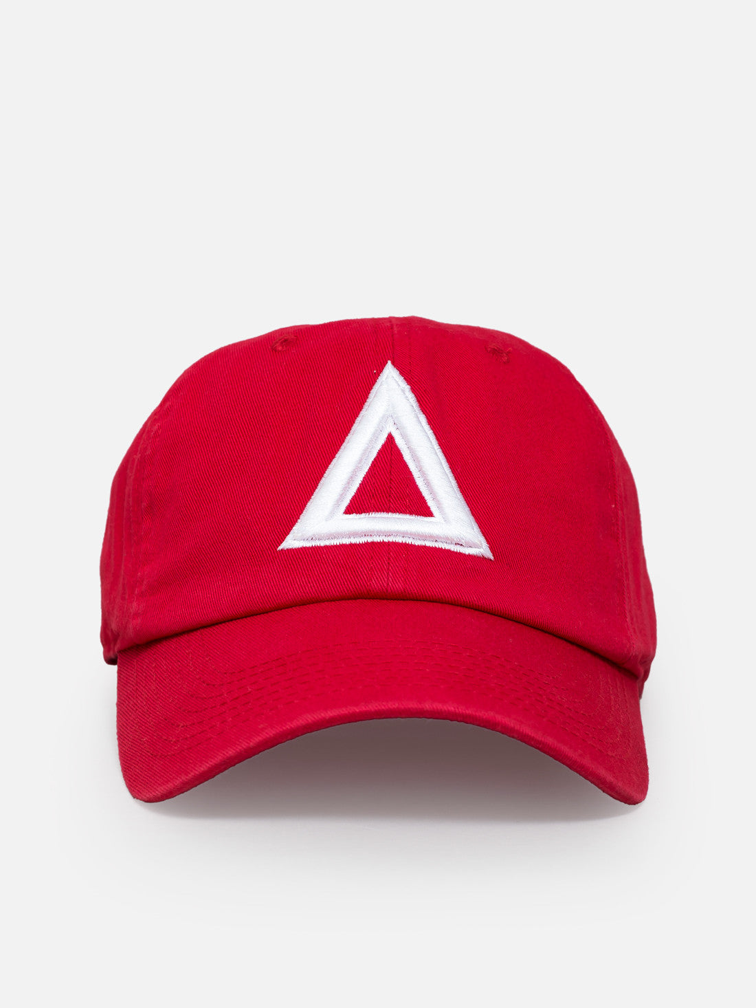 Dad hat red - white tri - Triangulo Swag