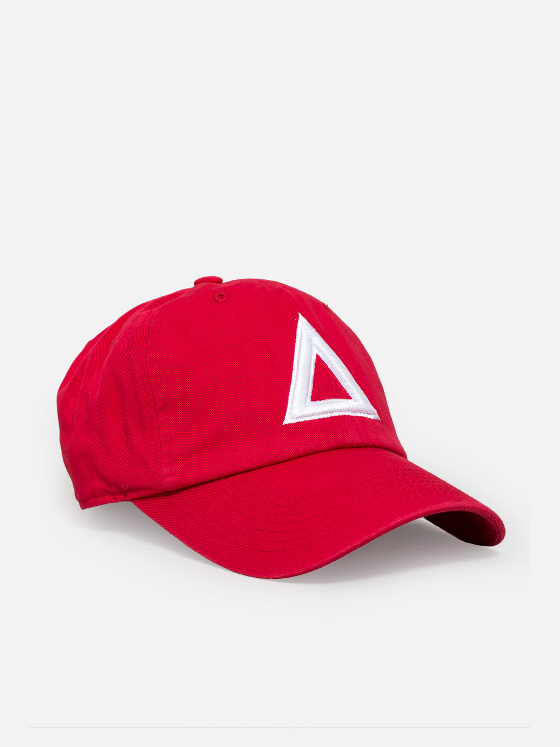 Dad hat red - white tri