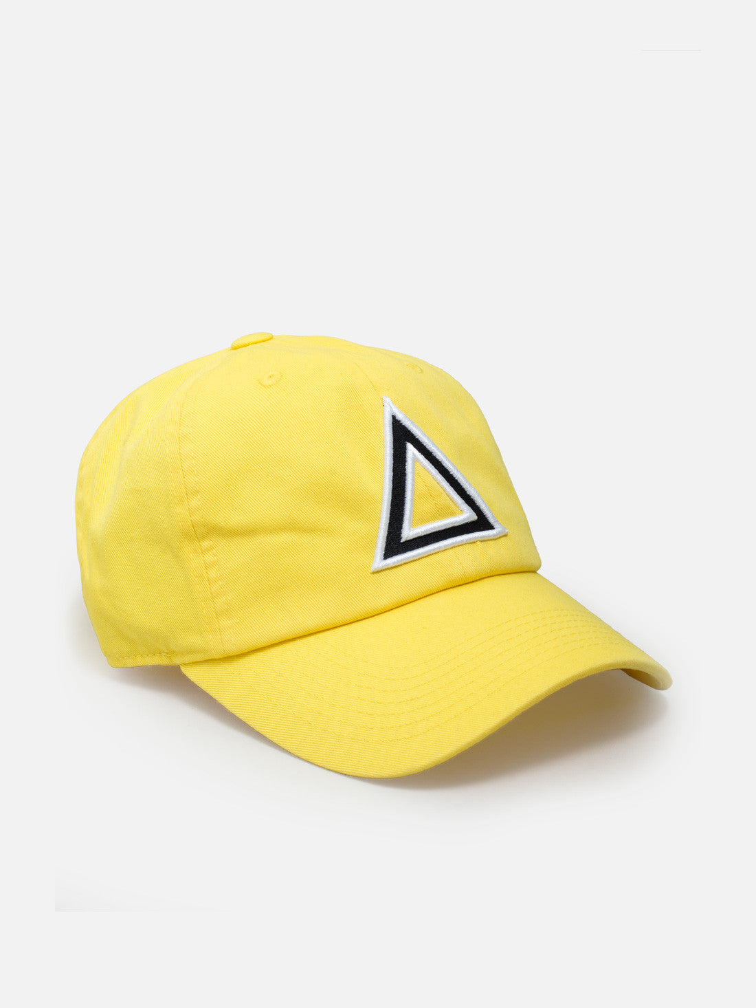 Dad hat yellow - blk/white tri