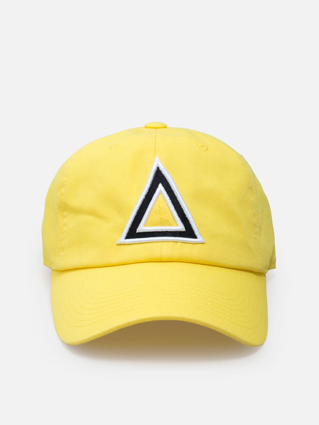 Dad hat yellow - blk/white tri - Triangulo Swag
