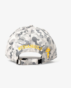 Grey Camo X Orange Hat