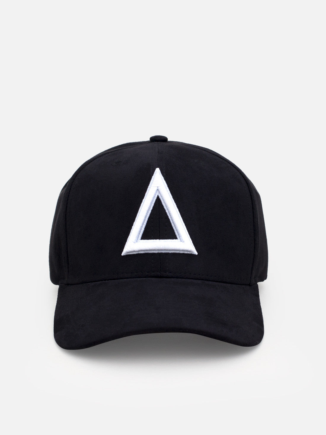 Suede Dad hat Black - white tri