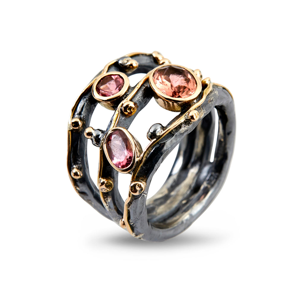 Tribeca Stones Red Tourmaline - By Birdie